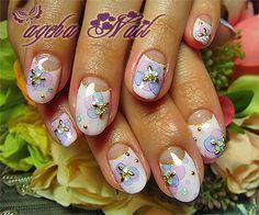 Ageha nail artist nail blog     Visit my site http://youtu.be/4yfEGZnJ96M     #nails #nailsartist