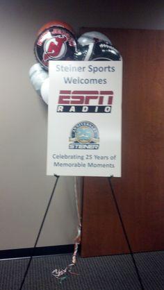 Happy 25th Anniversary Steiner Sports!