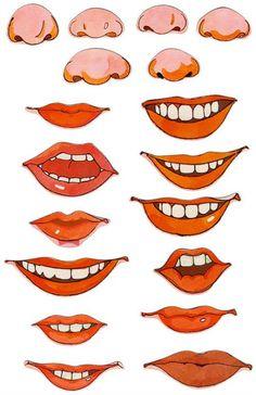 Narices y bocas