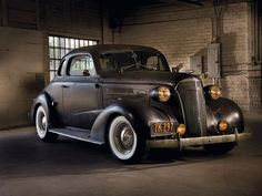 1937 Chevrolet Business Coupe #ClassicCars #CTins