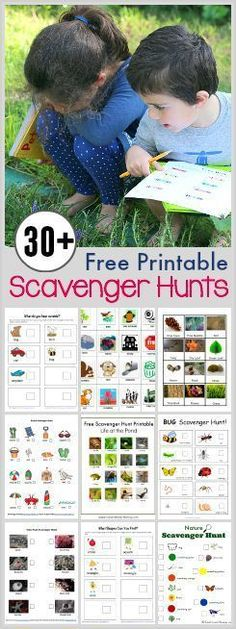 Over 30 Free Printable Scavenger Hunts for Kids that are perfect to keep kids busy over summer! Over 30 Free Printable Scavenger Hunts for Kids that are perfect to keep kids busy over summer! Learning Activities, Preschool Activities, Kids Learning, Family Activities, Kids Outdoor Activities, Kindergarten Learning, Nature Activities, Outdoor Activities For Kids, Kindergarten Crafts