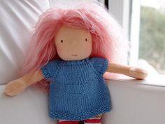 Ravelry: Amelia Doll Tunic pattern by Kristin Maw