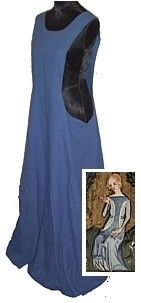 Rosalie's Medieval Woman - Sideless Surcote Tutorial