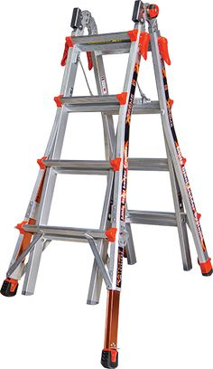 How Can I Create A Platform On My Stairs Strong Enough To Paint Stairs Ladder Leveler Ladder Werner Ladders