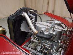 1904 White Type E Steam Car Rear Entry Makes Engine Photos