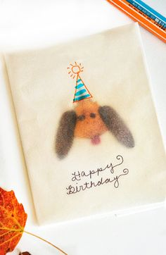 Make Tracing Paper Leaf Cards | willowday