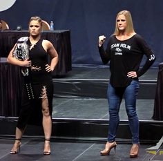 Ronda Rousey & Holly Holm