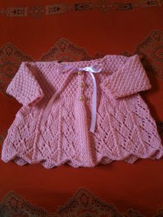 Knitting pattern for baby wrap over cardigan ad lace edged beautiful free patterns knitting for babies la dolce duchessa lace knit baby sweater free pattern lkwaaci dt1010fo