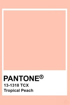 Just some of the pantones I personally love Peach Color Palettes, Pantone Colour Palettes, Colour Pallete, Pantone Color, Colour Schemes, Pantone Swatches, Color Swatches, Pantone Tcx, Peach Aesthetic