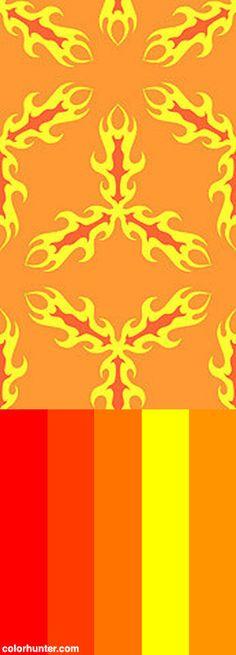 Alien+Fire+Bees+Color+Scheme