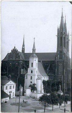 dobudowka do kościoła NMP. Białystok