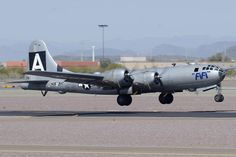 boeing b-29 superfortress | Boeing B-29 Superfortress N529b Fifi Deer Valley Airport March 7 2013 ...