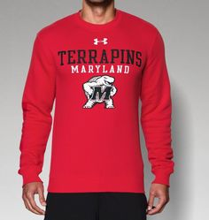 Men's Maryland UA Rival Fleece Crew