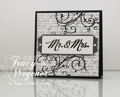 Paper Crafter's Library - Mr & Mrs