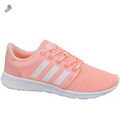 674cc7e8c Adidas - Cloudfoam QT Racer W - AW4005 - Color  Pink-White - Size  7.0 - Adidas  sneakers for women ( Amazon Partner-Link)