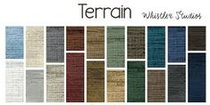 Terrain  by Whistler Studios features a great texture print that makes fantastic quilts.  In a richly hued color palette, this collection is anything but basic.  This collection is perfect for block quilts, stripy quilts, applique quilts, borders, blending, and backing.  The possibilities are endless! Bundles Available Too! Windham Fabrics, Whistler, Applique Quilts, Quilt Blocks, Studios, Quilting, Palette, Texture, Collection