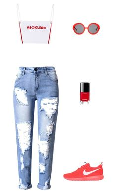 """Joisha"" by miumiudeleeuw on Polyvore featuring NIKE, Chanel and Preen"