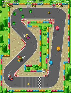 Super Mario Kart Pixel Artist: @jnkboy Source:jnkboy.tumblr.com