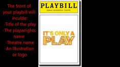 Playbill Project - Youtube intended for Playbill Template Word Invoice Template, Resume Templates, Banner Template Photoshop, Word Structure, Word Program, Best Templates, Design Templates, Microsoft Word 2007, Word Pictures