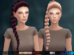 The Sims Resource: Alesso - Angels hair • Sims 4 Downloads
