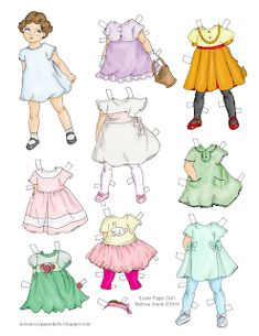 Miss Missy Paper Dolls: Happy Easter