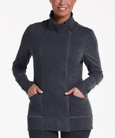 Loving this Charcoal Balsam Zip-Up Jacket on #zulily! #zulilyfinds