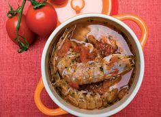 Zuppa di canocchie ricetta