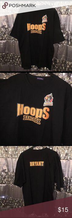 "5008c5a113e3 Rare Kobe Bryant Vintage Hoops Tshirt 2XL Welcome To My Closet! Rare ""Hoops  Bangkok"