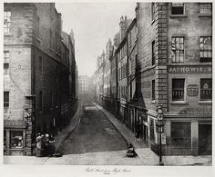 Bell Street from High Street Annan, Thomas, b.1829-1887 The Old Closes and Streets of Glasgow, 1868