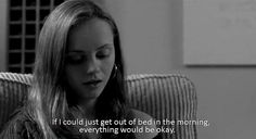 Christina Ricci in Prozac Nation. It's hard to know exactly what she means Tumblr Quotes, Tv Quotes, Movie Quotes, I Dont Feel Anything, How I Feel, Prozac Nation, Stuck In Love, Movie Subtitles, Sad Pictures