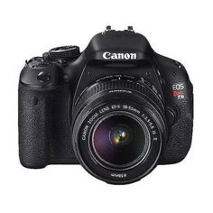 Canon EOS Rebel T3i Black 18MP DSLR Camera, EF-S 18-55mm 1 3.5-5.6 IS... ($599) ❤ liked on Polyvore
