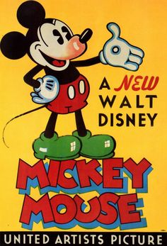 Mickey Mouse ------- (Disney and Iwerks)