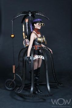 World of Wearable Art 2011 - the Steampunk entry.