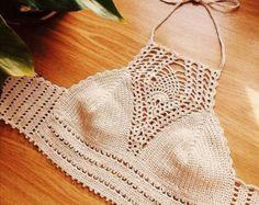 Ganchillo, vestido Crochet, cultivo tapa, tapa de Bohemia, fiesta, hecho a mano Hippie, Coachella, Boho, vestir, estilo gitano