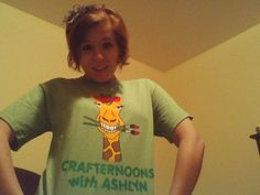 adult CRAFTERNOONS with ASHLYN TSHIRTS limited by brookeworm, $15.00