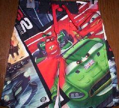 d4a73d4f89 Disney CARS Swimtrunks 4/5 New Swim Trunks Board Shorts Nigel Gearsley  Francesco #DisneyCars