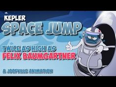 Kepler Space Jump - Twice as high as Felix Baumgartner