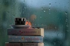 A rainy day is a reading day :)