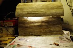 1 LED (Wall) Lamp from dead wood/Finland Led Wall Lamp, Wooden Lamp, Finland, Home, Ad Home, Homes, Haus, Houses