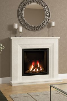 Pureglow drayton and chelsea high efficiency gas fireplace suite 48 vitalia gas fireplace in manila micro marble teraionfo