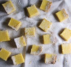 Meyer Lemon Ricotta Bars - Healthy Green Kitchen