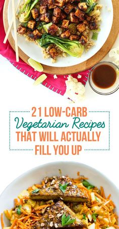 21 Low-Carb Vegetarian Recipes That Will Actually Fill You Up @buzz