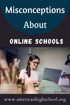 For those considering taking online high school courses, it's important to have the proper information. The rise of the online high school world has unfortunately led to a number of common misconceptions about these kinds of classes and programs. #onlinehighschool #onlinehomeschool #homeschool #onlinemiddleschool #virtualschool #virtualhighschool #virtualmiddleschool #virtualhomeschool #homeschooling #onlinehomeschooling #elementaryschool Online High School Courses, Virtual High School, Online Middle School, American High School, Common Myths, Online College, Elementary Schools, Number, Led