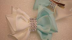 (1) Бантики из Репсовой Ленты. КАНЗАШИ Своими Руками. DIY Cute Hair Bow Kanzashi Ribbon Fower Маргарита - YouTube