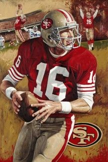 "Joe Cool The Comeback Kid American Football 24/""x32/"" Poster 029 JOE MONTANA"