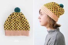 Annie Larson diamond hat