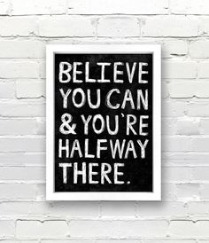 just believe...