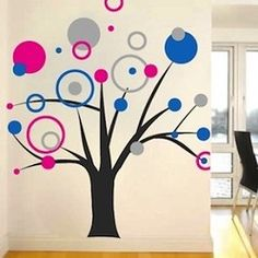 Large Wall Decals, Wall Clings & Wall Appliqués - Trendy Wall Designs