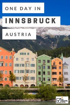 Join The Travel Tester for one day in Innsbruck in Austria and discover this historical mountain city with its incredible panoramic views. Insbruck Austria, Austria Winter, Austria Travel, Germany Travel, Austria Tourism, Switzerland Destinations, Switzerland Tourism, Switzerland Vacation, Innsbruck