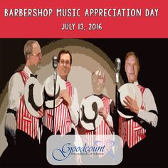 It's Barbershop Music Appreciation Day! Create beautiful harmonies with your sweetheart with a personalized crystal gift from Goodcount! Unusual Holidays, Wacky Holidays, 3d Crystal, Crystal Gifts, Crystal Awards, 3d Laser, Barbershop, Laser Engraving, Appreciation